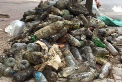 Phóng sự: Hãi hùng miệng cống, gốc cây đầy rác thải nhựa