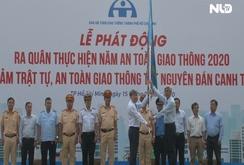 TP HCM ra quân thực hiện năm An toàn giao thông 2020
