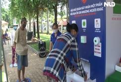 """""""ATM thực phẩm miễn phí"""" thứ 2 của Báo Người Lao Động đi vào hoạt động"""