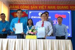 Báo Người Lao Động và LĐLĐ tỉnh Tiền Giang ký kết hợp tác