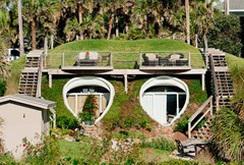 Chiêm ngưỡng thiết kế ngôi nhà xinh đẹp ẩn mình trong đồi cát bên bờ biển