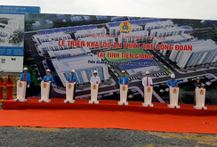Triển khai dự án thiết chế Công đoàn tại Tiền Giang
