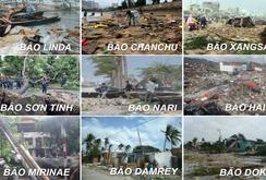 Bão Molave và những cơn bão kinh hoàng từng quét qua Việt Nam