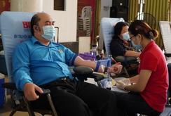 Sôi nổi hoạt động hiến máu nhân đạo giữa mùa dịch Covid-19