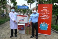 Cùng cộng đồng chung tay phòng chống dịch Covid-19: Tiếp sức Bệnh viện Dã chiến Củ Chi