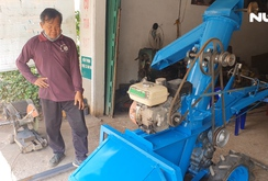 Kỹ sư bỏ phố về quê sáng chế nhiều máy móc phục vụ nông dân