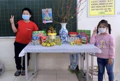 Hoạt động trong khu cách ly Trường Tiểu học Xuân Phương