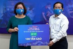 Nhiều doanh nghiệp cùng Báo Người Lao Động tương trợ cộng đồng chống dịch