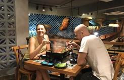 Nhà hàng Hao Yu Grilled Fish tham gia làng ẩm thực Việt Nam