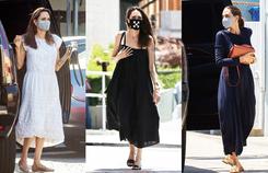 Phong cách dạo phố của Angelina Jolie