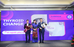 Quỹ 'The Merck Family' cùng Bệnh viện Nội tiết Trung ương công bố kết quả dự án 'Thyroid Change'