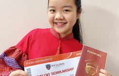 Cô bé mê đàn nhị giành học bổng phổ thông Mỹ