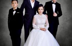 """Lộ hình ảnh kỷ niệm ngày cưới """"Hạnh Phúc Vàng Son"""" của ca sĩ Lưu Thiên Ân"""