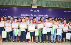 Gần 700 học sinh tranh tài tại 'Đấu trường toán học'