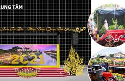TP HCM: Rực rỡ Chợ Hoa Xuân 'Trên bến dưới thuyền'