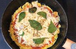 Món pizza làm từ đậu phụ