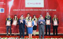 Chubb Life Việt Nam được vinh danh trong Top 500 doanh nghiệp lợi nhuận tốt nhất Việt Nam năm 2020