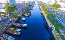 """Chợ hoa Xuân """"Trên bến dưới thuyền"""" Tết Tân Sửu 2021"""