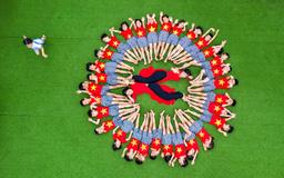 """Cuộc thi ảnh """"Thiêng liêng cờ Tổ quốc"""": Tôi yêu Tổ quốc tôi"""
