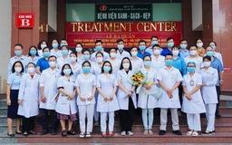32 nhân viên y tế ở Bình Định lên đường chi viện cho miền Nam chống dịch