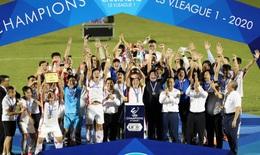 Viettel lần đầu lên ngôi vô địch V-League