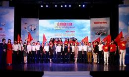 """Toàn cảnh Lễ Ký kết đồng hành """"Một triệu lá cờ Tổ quốc cùng ngư dân bám biển"""" lần 2-2020"""