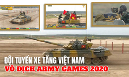 [eMagazine] Đội tuyển xe tăng Việt Nam vô địch Army Games 2020 như thế nào?