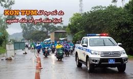 Tỉnh Kon Tum dốc toàn lực hỗ trợ người dân từ phía nam về quê mùa dịch Covid-19
