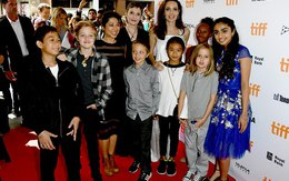 Angelina Jolie rạng ngời cùng các con trên thảm đỏ