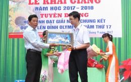 Quảng Trị: Tuyên dương quán quân Olympia năm 2017 Nhật Minh
