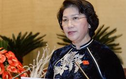 Chủ tịch QH Nguyễn Thị Kim Ngân điều hành phiên họp Hội nghị Trung ương
