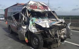 Phút sinh tử vụ tai nạn trên cao tốc TP HCM - Long Thành