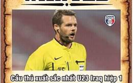 Dân mạng đua nhau lập Facebook giả mạo trọng tài trận U23 Việt Nam - Iraq
