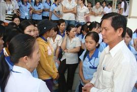 Tăng cường biện pháp ổn định quan hệ lao động trong dịp Tết