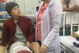 Cô bé 15 tuổi phải cưa chân vì ung thư