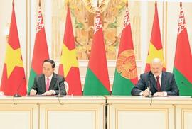 Phát triển toàn diện quan hệ Việt Nam - Belarus