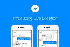 Facebook cập nhật Live Location