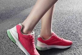 Giày thông minh dùng chip theo dõi sức khoẻ