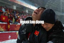Khoảnh khắc U23 Việt Nam òa khóc sau bàn thua phút 119