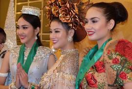 Nguyễn Phương Khánh thắng giải vàng trang phục dân tộc cuộc thi Hoa hậu Trái đất