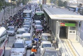 """BRT ngàn tỉ kém hiệu quả: """"Cảnh báo rồi nhưng họ cứ làm!"""""""