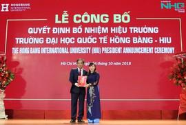 PGS-TS Hồ Thanh Phong làm hiệu trưởng Trường ĐH Quốc tế Hồng Bàng