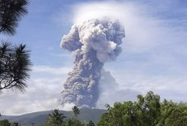 Đảo Sulawesi: Núi lửa thức giấc sau thảm họa động đất, sóng thần