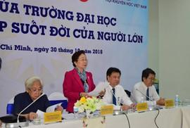 Nguyên Phó chủ tịch nước Nguyễn Thị Doan: Kinh tế tri thức tụt hậu khá xa