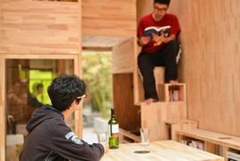 Độc đáo căn nhà gỗ 7m2 có thể chuyển đi khắp nơi