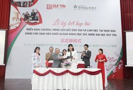 ĐH Duy Tân hợp tác với Tập đoàn Phúc lợi Xã hội Seirei đào tạo nhân lực điều dưỡng