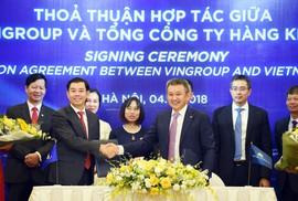 "Vietnam Airlines - Vingroup ""bắt tay"""