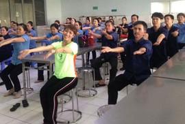 Hơn 37.000 công nhân tham gia tập thể dục giữa giờ