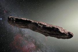 Tiểu hành tinh quái dị là tàu vũ trụ của người ngoài trái đất?