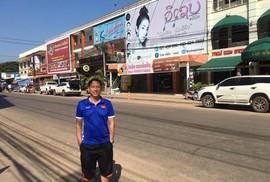 Tuyển Việt Nam đóng quân ở phố người Hàn